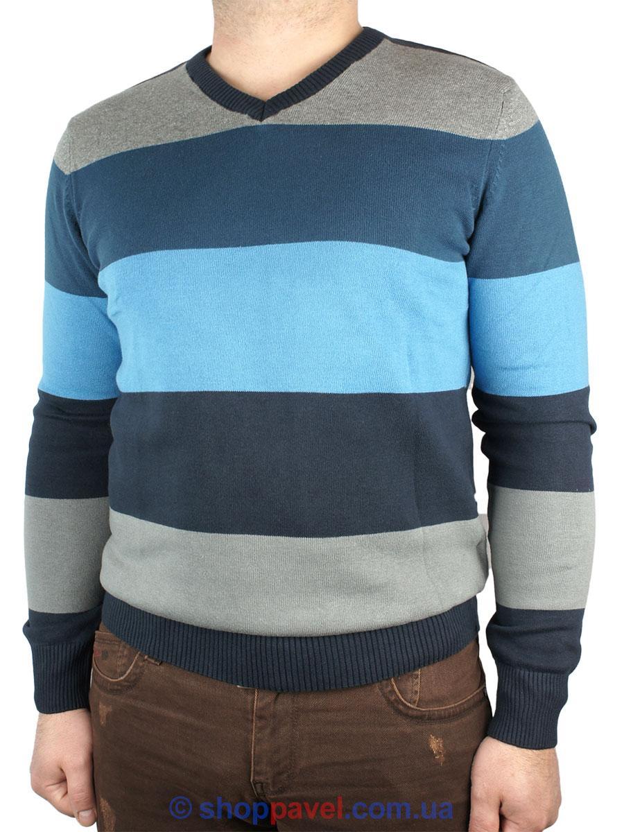 Мужской классический свитер EMR в разных цветах 4327 Н