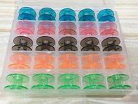 Шпульки бытовые пластмасовые набор