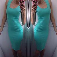 Женское Платье - майка длинное миди р. 42,44,46, фото 1