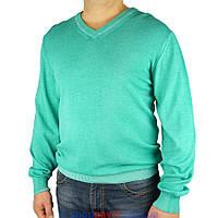 Бирюзовый мужской свитер Taddy 0390