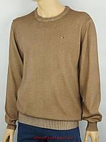 Стильный мужской свитер TН в светло-коричневом цвете