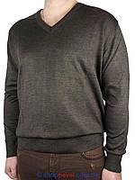 Мужской классический свитер Wool Yurt 0250 Н мис в коричневом цвете
