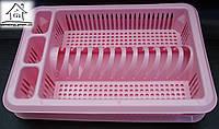 Пластиковая сушилка для посуды одноярусная Elif Plastik С010