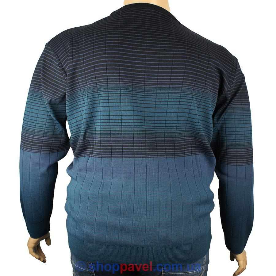 756b30a23f485 Мужской стильный свитер Besle большой размер 21713 В - Магазин мужской  одежды