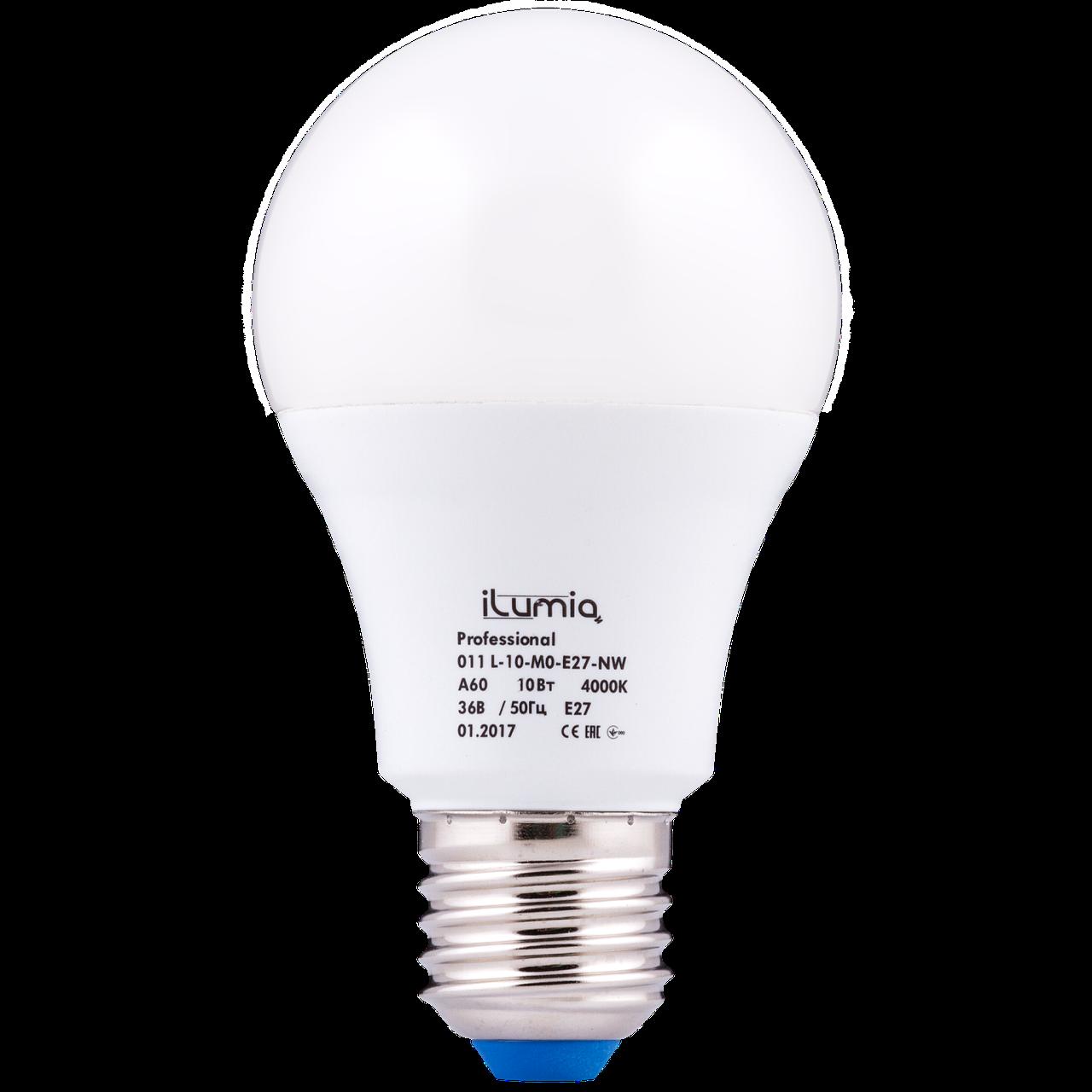 LED лампа МО 10W E27 36V