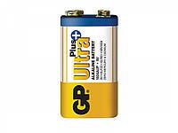 Батарейка GP 1604АУП-S1 Ultra alkaline PLUS 6LF22, крона, 9V, трей