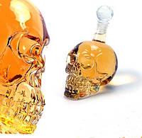 Графин в форме черепа с пробкой большой