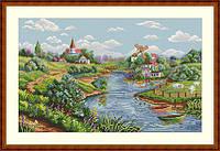 Набор для вышивки крестиком К-57 Весенний пейзаж