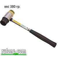 Молоток рихтовочный D-35 мм с металлической рукояткой - 02K238, резиновый и полиуретановый сменные бойки.