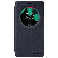 Кожаный чехол-книжка Nillkin Sparkle для Asus Zenfone 3 Laser (ZC551KL) черный