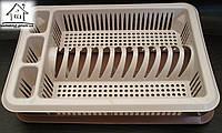 Пластиковая сушилка для посуды одноярусная Elif Plastik С011