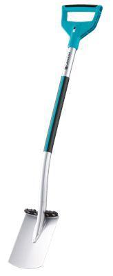 Штыковая лопата Gardena Terraline с D-образной рукояткой