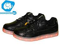 Детские кроссовки Led с подсветкой  ТМ Клиби, 37р, фото 1