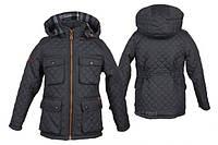 Куртка демисезонная стеганная  для мальчиков на рост 104-110см, фото 1