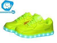 Детские кроссовки Led с подсветкой  ТМ Клиби,37р, фото 1