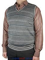 Классический мужской жилет EMR  Art.80-05 #03 в полоску