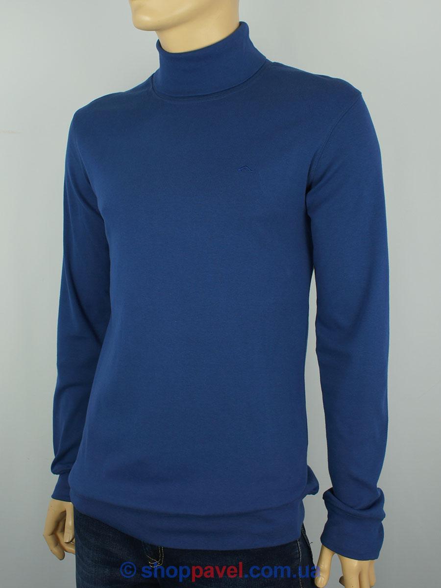 Мужская водолазка гольф MSW 0190 H в голубом цвете