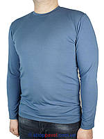 Мужская водолазка Taddy 0150 с круглым горлом в синем цвете