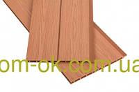 Панель фасадная (облицовочная) P&W из ДПК   цвет мербау