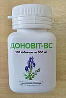 Доновит-ВС с спирулиной- останавливает рост опухоли и метастазов