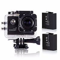 Экшн камера DBPOWER Wi-Fi Оригинал Full HD 1080P + полный комплект + дополнительная батарея