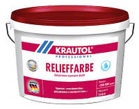 Краска структурная фасадная KRAUTOL RELIEFFARBE (15,6 л)