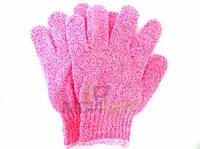 Мочалка-перчатка 2в1 массажка