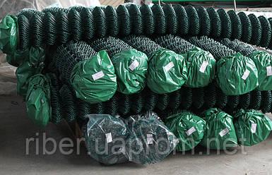 Сетка рабица в ПВХ 1м 35*35 2.5 мм