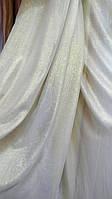 Тюль однотонная лен Астерион