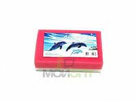 Мочалка банная Дельфин