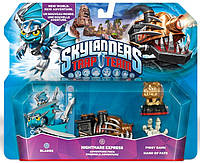 Skylanders Trap Team Nightmare Express Adventure Pack Blades Nightmare Express Piggy Bank Hande of Fate
