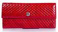 Компактный женский кожаный кошелек KARYA SHI1142-122 красный, фото 2