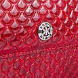 Компактный женский кожаный кошелек KARYA SHI1142-122 красный, фото 5