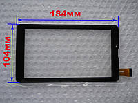 Touch screen (Сенсор) DIGMA HIT 3G HT7070MG (184*104) Чёрный (TEST OK)
