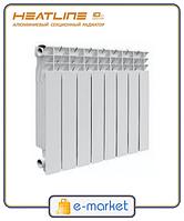 Радиатор алюминиевый HeatLine M-500A2/80.