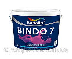 BINDO 7 Sadolin BW Шелковисто- матовая моющаяся краска ( Биндо 7 Садолин ) 10л.