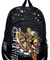 Школьный ранец для мальчиков 28*40 (черный)
