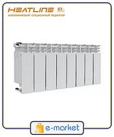Радиатор алюминиевый HeatLine M-300A 300/85.