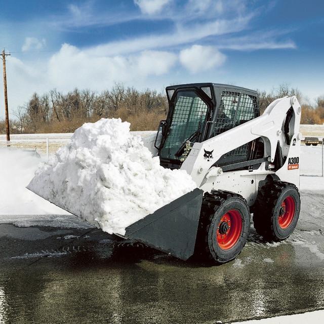 Ковш для снега