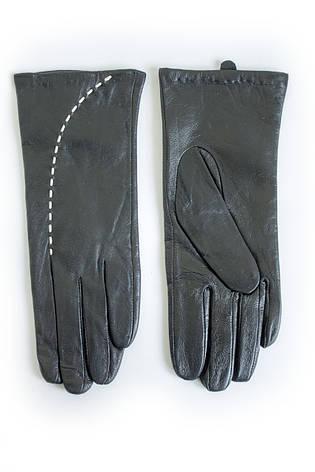 Женские кожаные перчатки ВЯЗКА Средние W22-160111s2, фото 2