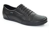 Подростковые, детские кожаные мокасины, туфли