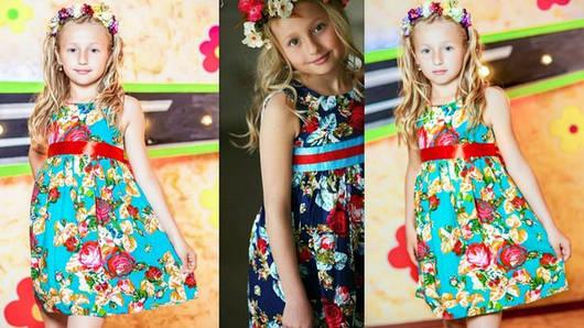 Детское платье ника дг1100