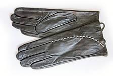 Женские кожаные перчатки Кролик Сенсорные Маленькие W22-160114s1, фото 3