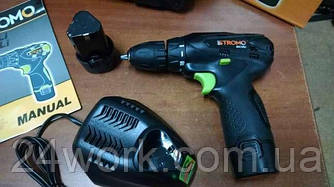 Шуруповёрт аккумуляторный Stromo SA 12 LI