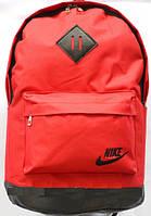 Спортивные и городские рюкзаки с кожаным дном 45х30 (ЧЕРНЫЙ - с - КРАСНЫМ)