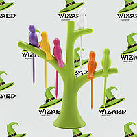 Шпажки для канапе Птички на дереве, фото 1