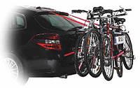 Багажник велосипедный на заднюю дверь 3 велосипеда Amos Weekend