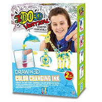 Набор для творчества с 3D-маркером Меняющий Цвет IDO3D 166060