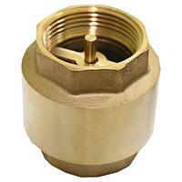 Обратный клапан 2'' латунный шток Santan