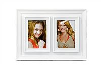 Мультирамка Pair, белая, 2 фотографии